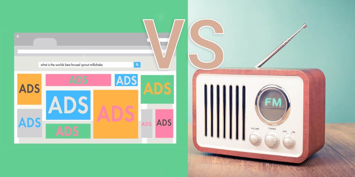 ¿Anunciarse en la radio o en redes sociales?